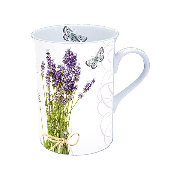 AMB.18611695 Bunch of Lavender porcelán bögre dobozban 0,25l