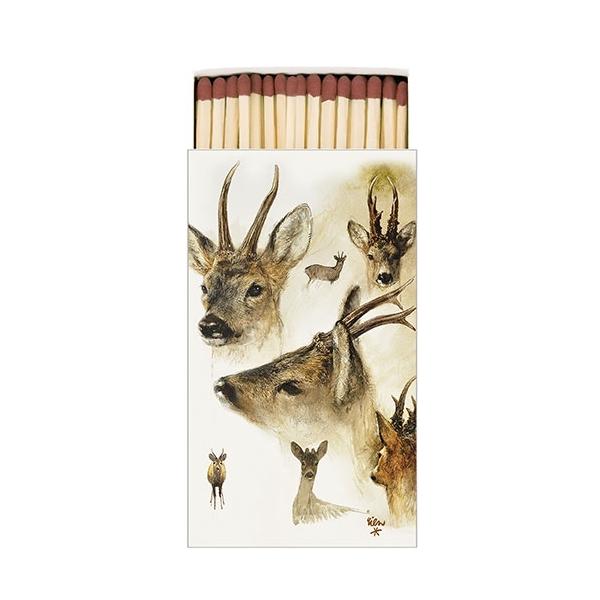 AMB.19511010 Portraits Of Deer gyufa 6,5x11cm