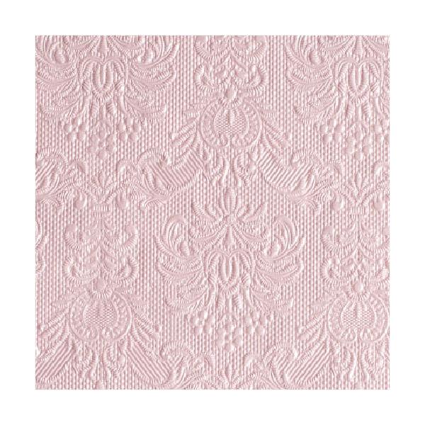 Elegance Pearl Pink papírszalvéta 25x25cm, 15db-os