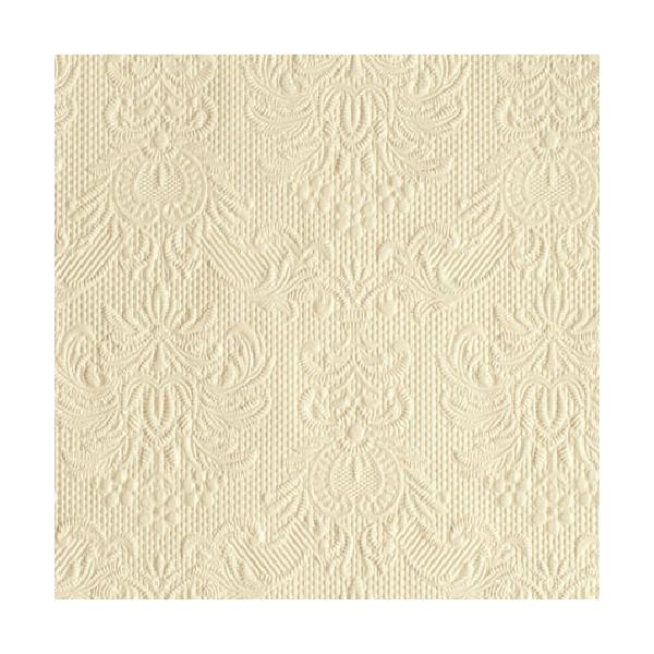 Elegance cream papírszalvéta 25x25cm, 15db-os