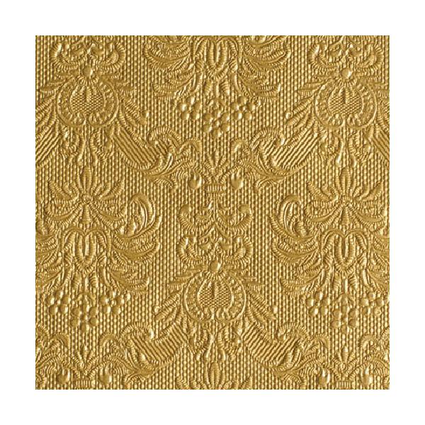 AMB.12504937 Elegance gold papírszalvéta 25x25cm,15db-os