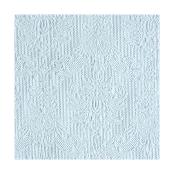 Elegance light blue papírszalvéta 25x25cm, 15db-os