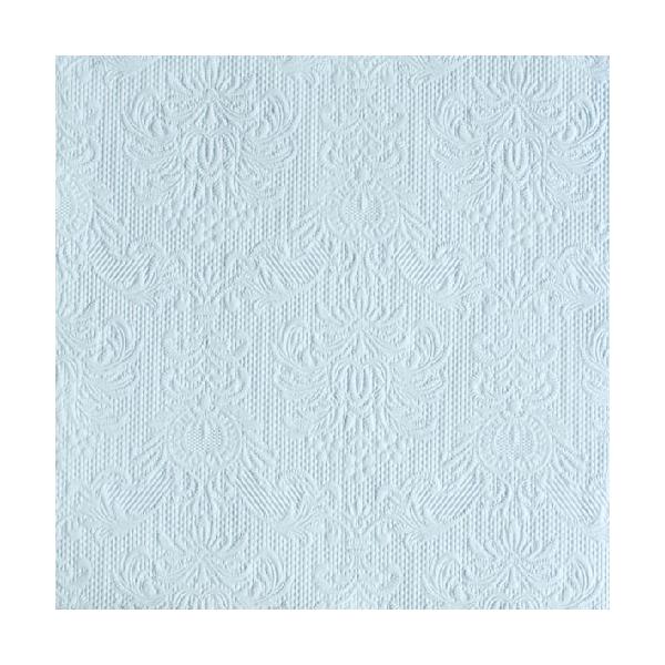 Elegance light blue papírszalvéta 33x33cm, 15db-os