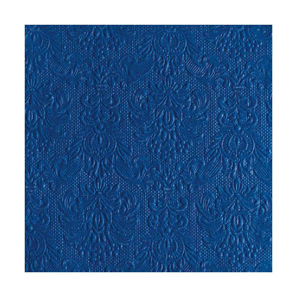 Elegance navy papírszalvéta 40x40cm, 15db-os