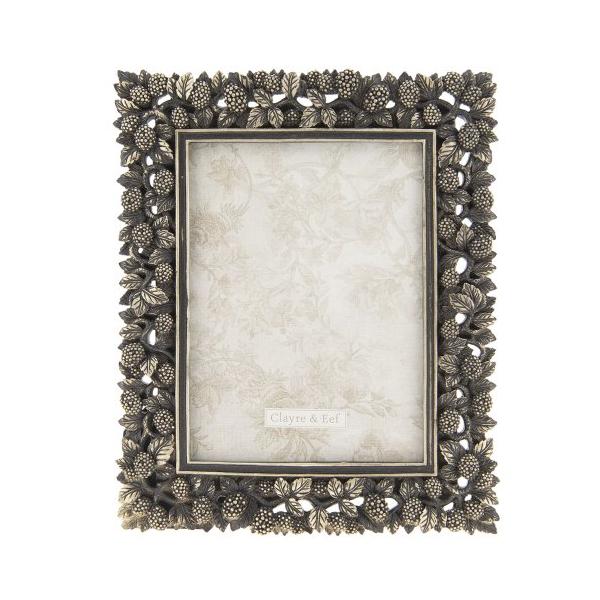 Clayre & Eef 2F0581 Képkeret műanyag 19x245cm/13x18cm, antikolt arany