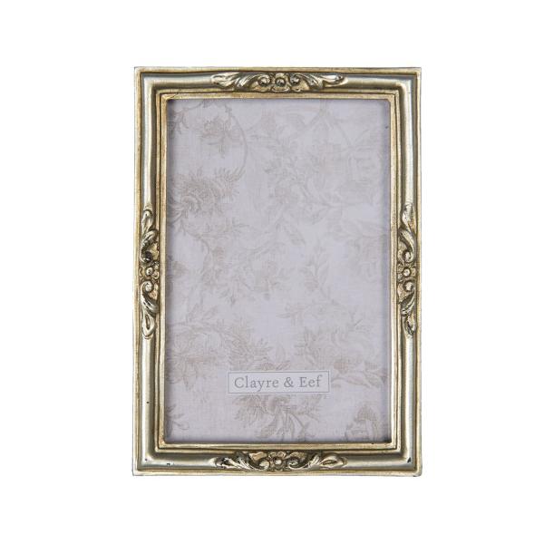 CLEEF.2F0667 Képkeret antik arany 12x17cm/10x15cm