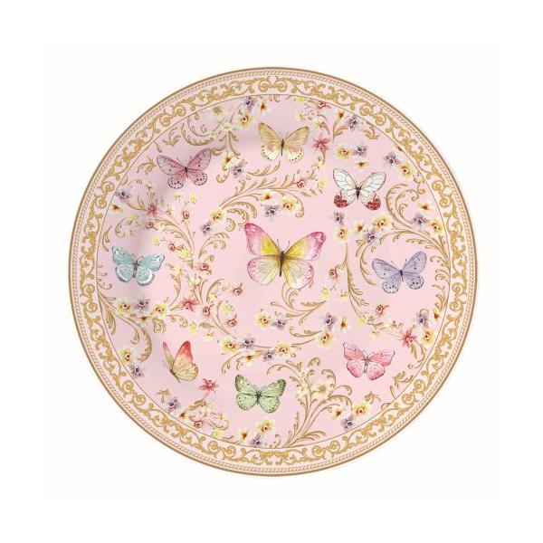 R2S.1361MAJB Porcelán desszerttányér 19cm, Majestic Butterflies