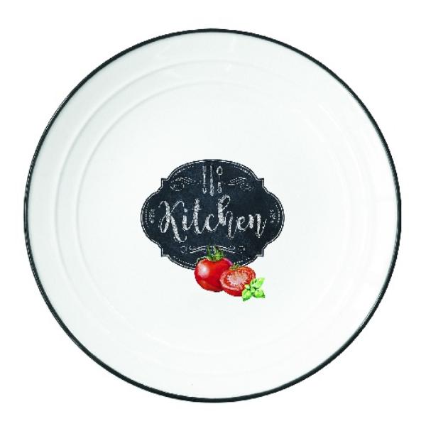 Porcelán tányér Kitchen Basics