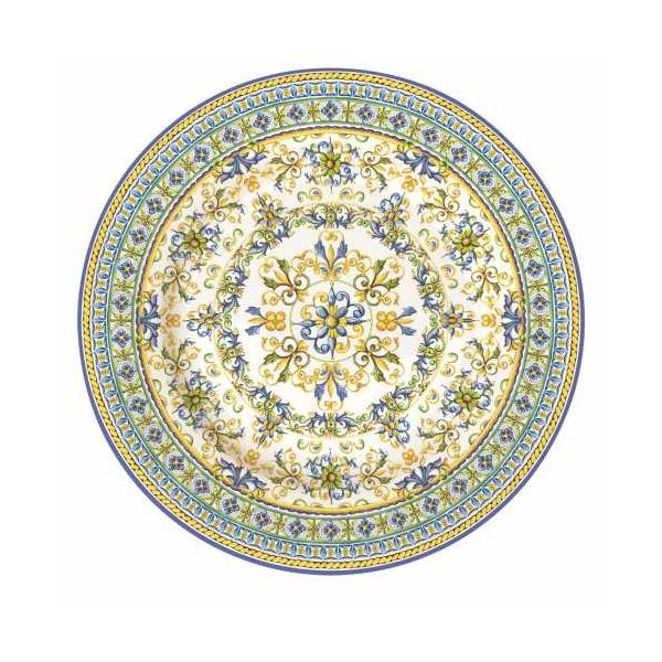 Porcelán desszerttányér 19cm, Capri
