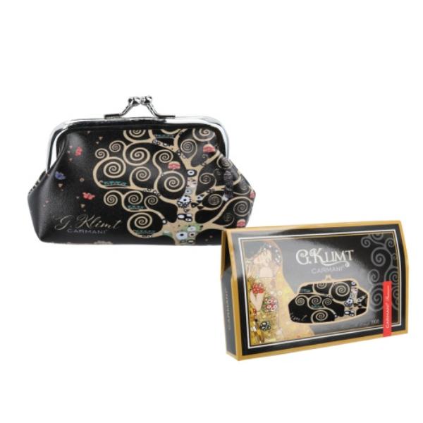 H.C.021-4513  Műbőr pénztárca 20x10x10 cm, Klimt: Életfa