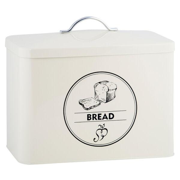 Fém kenyértartó
