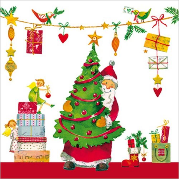 PPD.C007526 Gifts are Coming papírszalvéta 33x33cm,20db-os