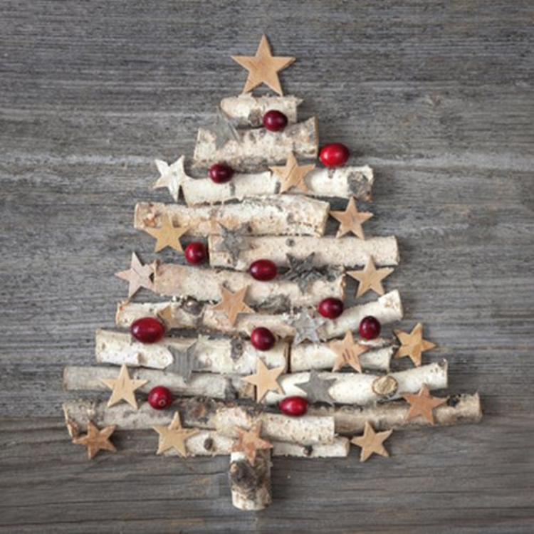 PPD.C3331741 Wood Ornament Tree Papírszalvéta 33x33cm,20db-os