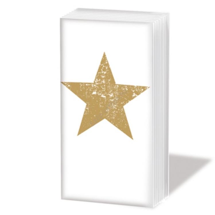 PPD.SNIFF051578 Sniff Star Fashion gold Papírzsepkendő,10db-os