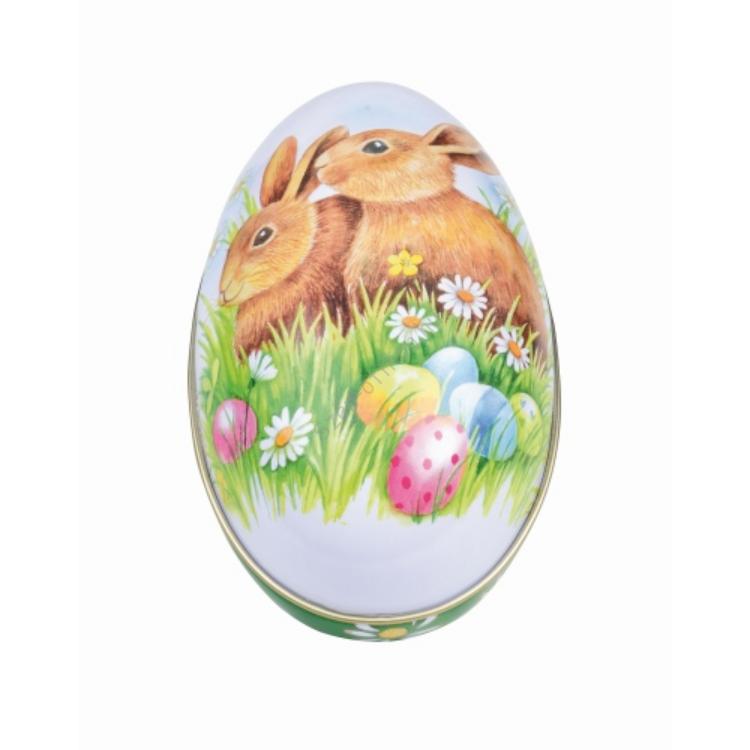 GAW.3396/700 konyhai tojás fémdoboz 112x69x69mm Bunnies