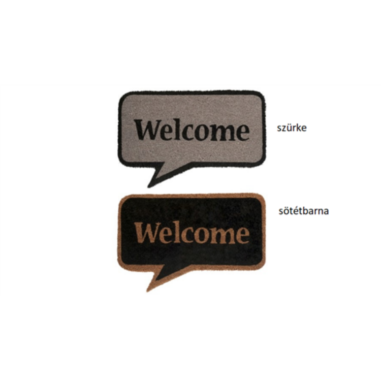 J.66290 Welcome lábtörlő,60x40cm