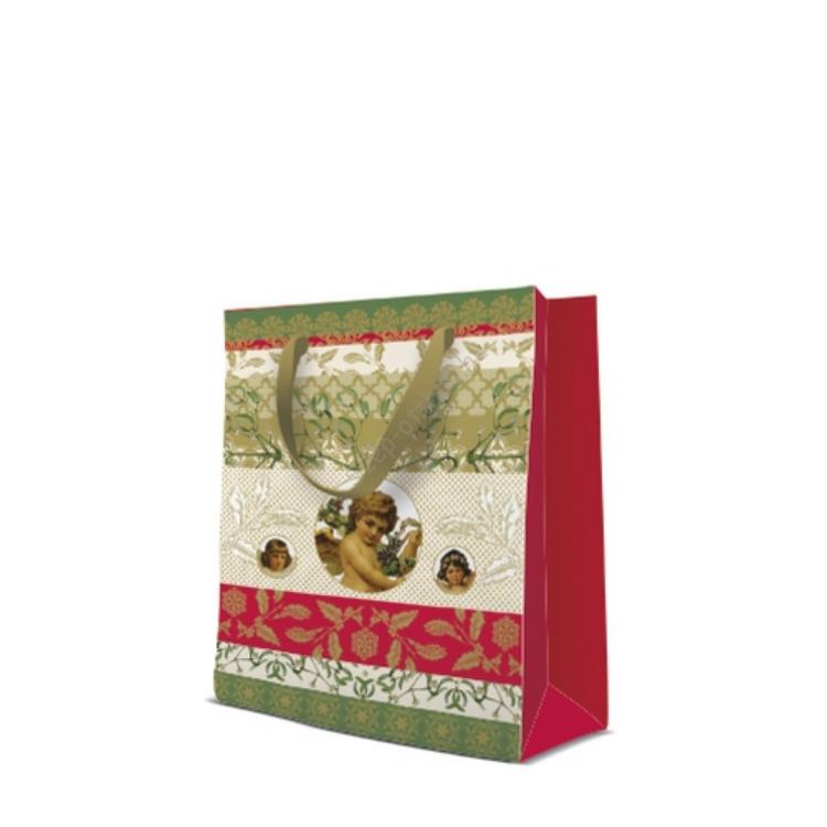 P.W.AGB2005003 Just Christmas papír ajándéktáska medium 20x25x10cm