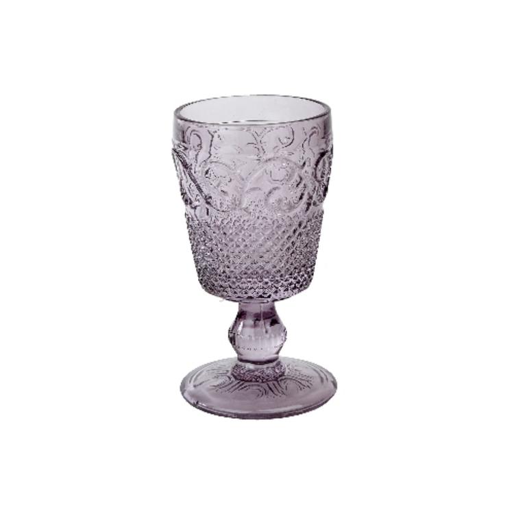 C.T.5139263 Talpas üveg pohár lila,250ml,HighLand Fling