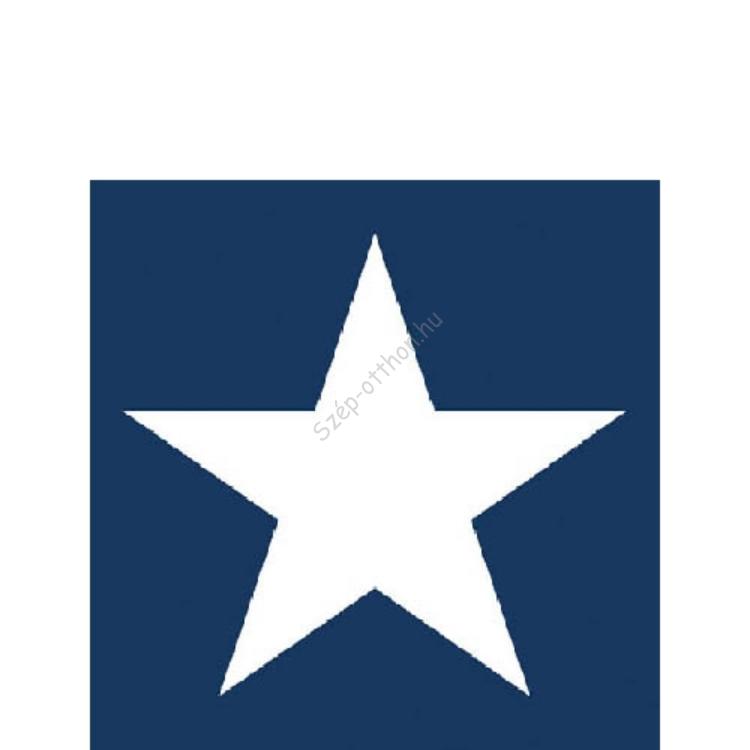 AMB.32504055 Star dark blue papírszalvéta 25x25cm,20db-os