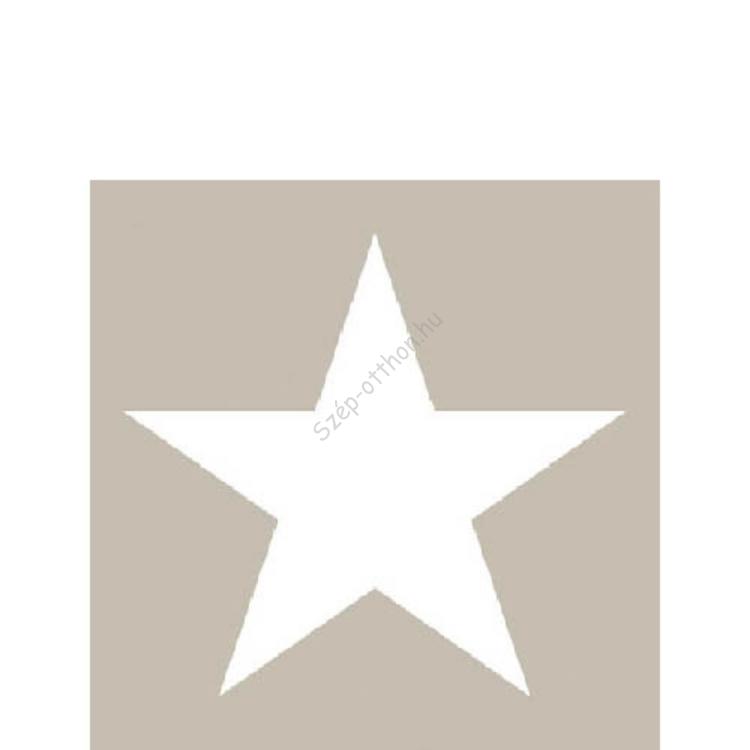 AMB.32504057 Star sand papírszalvéta 25x25cm,20db-os