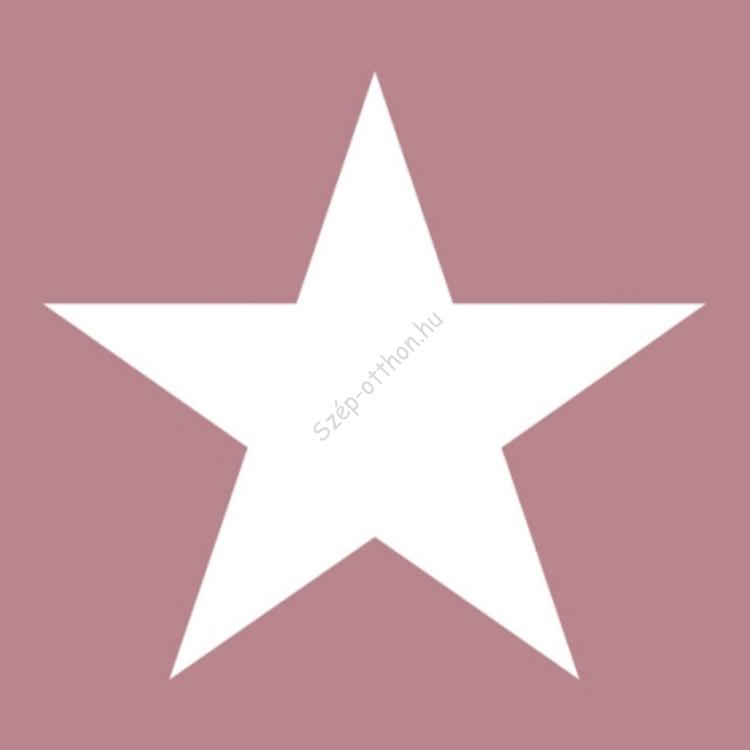 AMB.33304315 Star pale rose papírszalvéta 33x33cm,20db-os