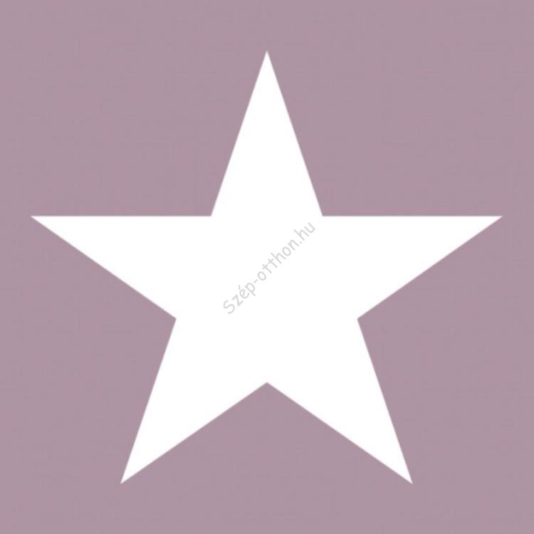 AMB.33304316 Star pale lilac papírszalvéta 33x33cm,20db-os