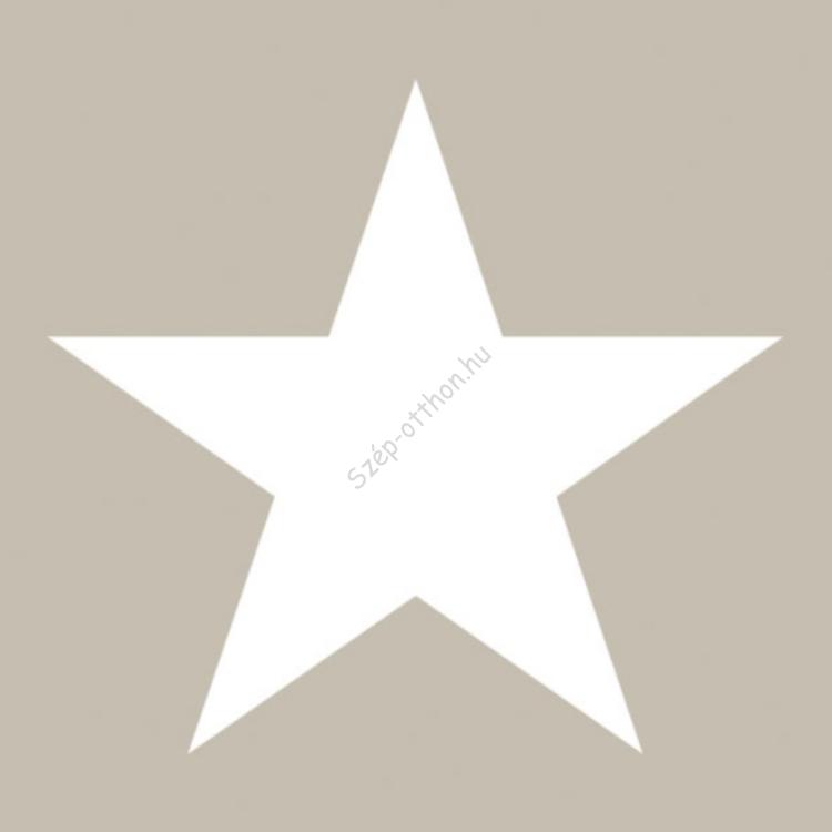 AMB.33304057 Star sand papírszalvéta 33x33cm,20db-os