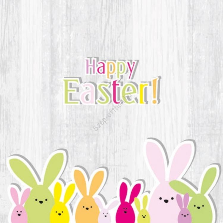 AMB.23301595 Funny Bunny papírszalvéta 33x33cm,20db-os