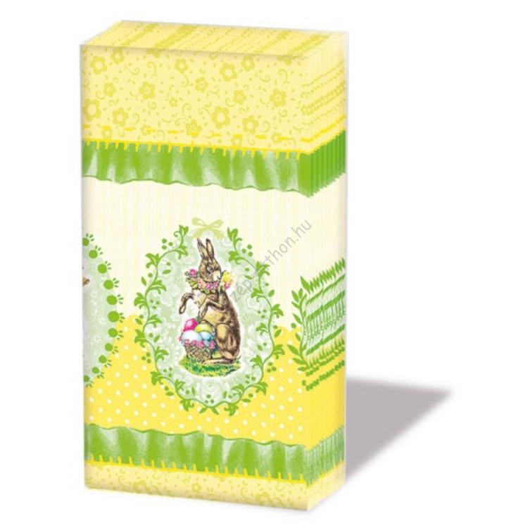 AMB.22201620 Nostalgic Easter papírzsebkendő,10db-os