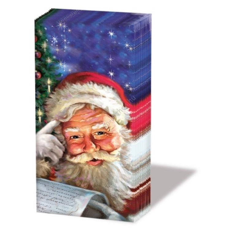 AMB.32205050 Remember Santa! papírzsebkendő,10db-os