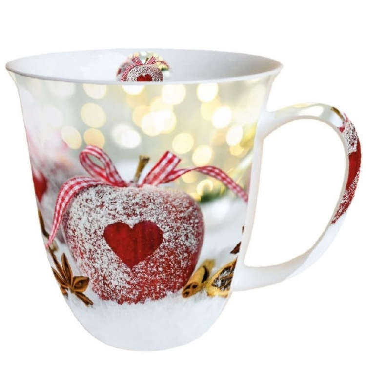 AMB.38410560 Heart On Apple porcelán bögre 0,4l