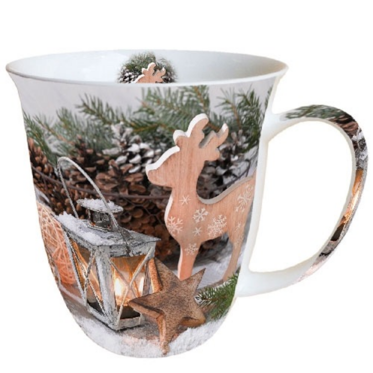 AMB.38410800 Winter Time porcelán bögre 0,4l
