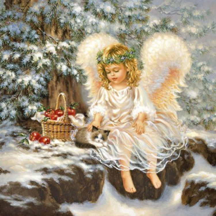 AMB.33304975 Little Angel papírszalvéta 33x33cm,20db-os
