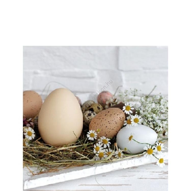 AMB.22514290 Pastel Eggs papírszalvéta 25x25cm, 20db-os