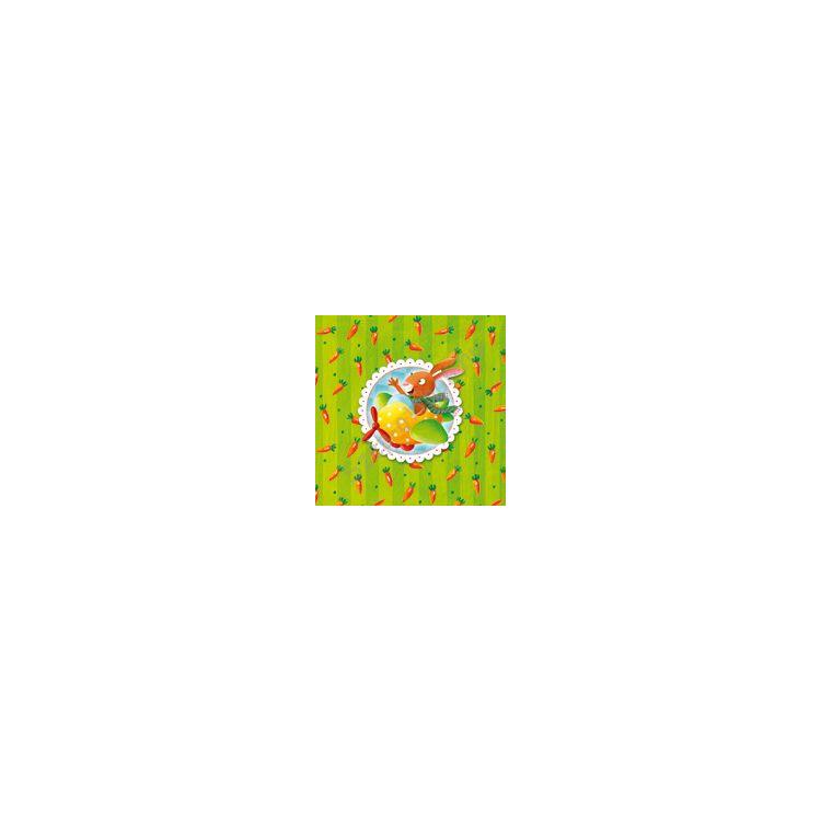 AMB.23301530 Funny Bunny papírszalvéta 33x33cm,20db-os