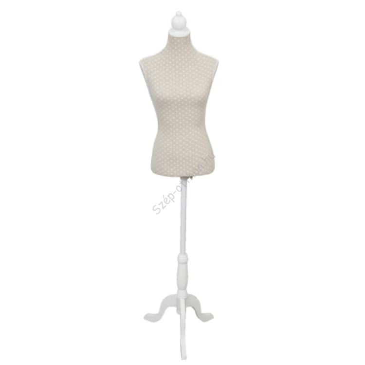Clayre & Eef BU0004 Próba baba textil bevonatúl 29x16x135cm