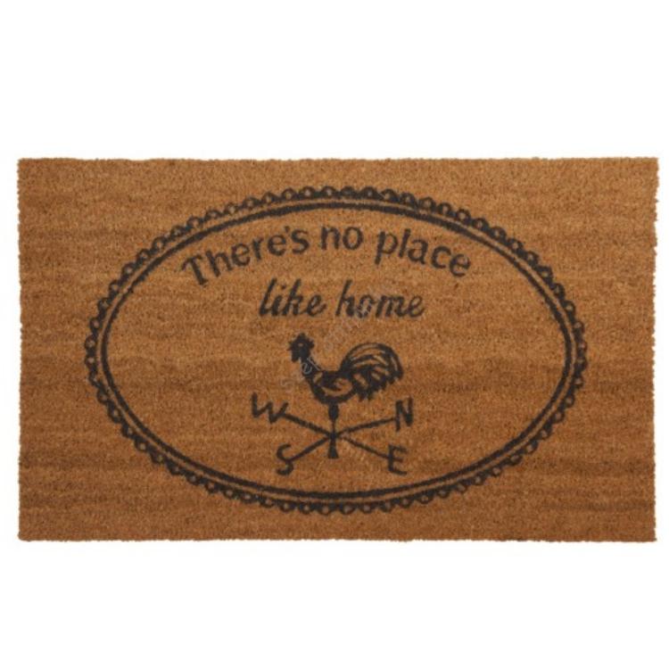 "Clayre & Eef MC082 Lábtörlő 75x45cm,"" There's no place like home"""