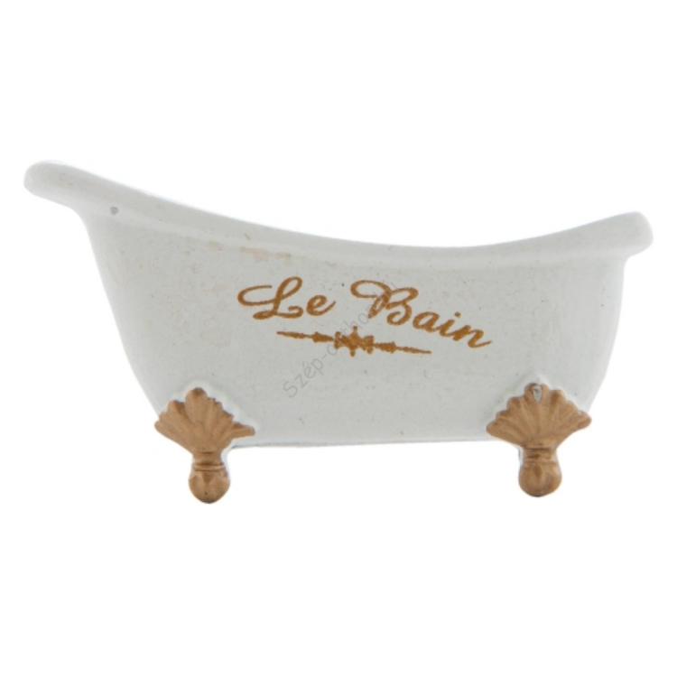 "Clayre & Eef 63308 Ajtófogantyú 7x4cm, kád forma ""La Bain"""