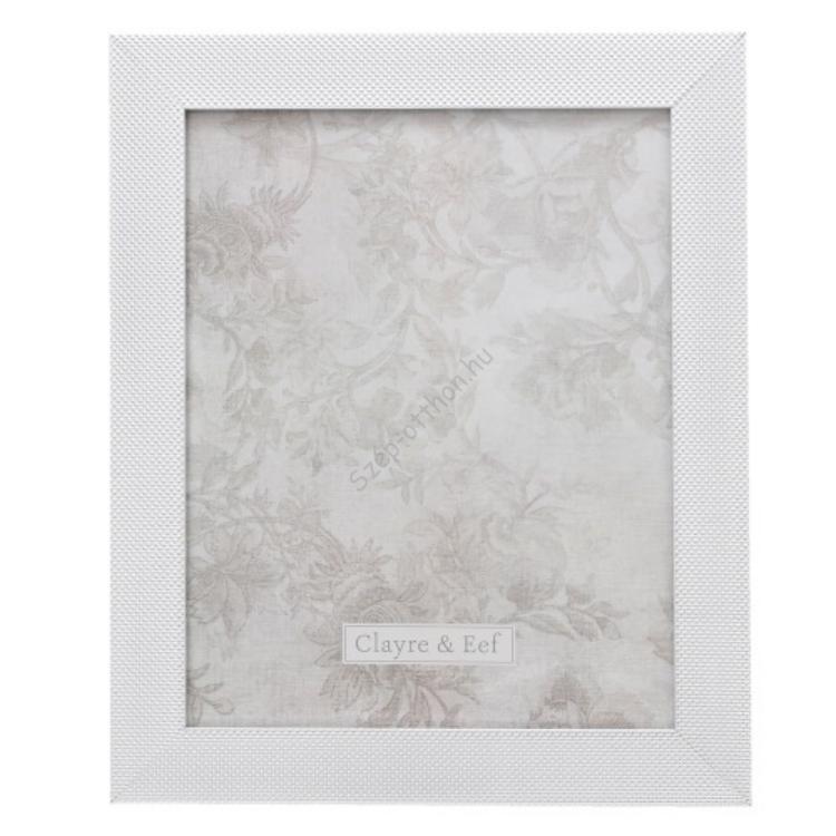 Clayre & Eef 2F0614L Képkeret 24x29cm/20x25cm, ezüst színű