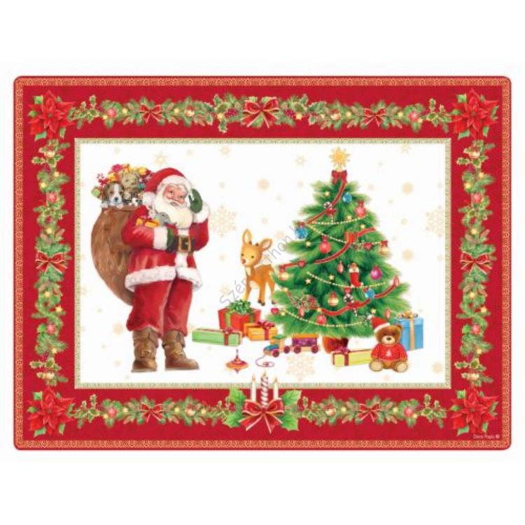 R2S.608XMAS Parafa tányéralátét 4db-os,Christmas