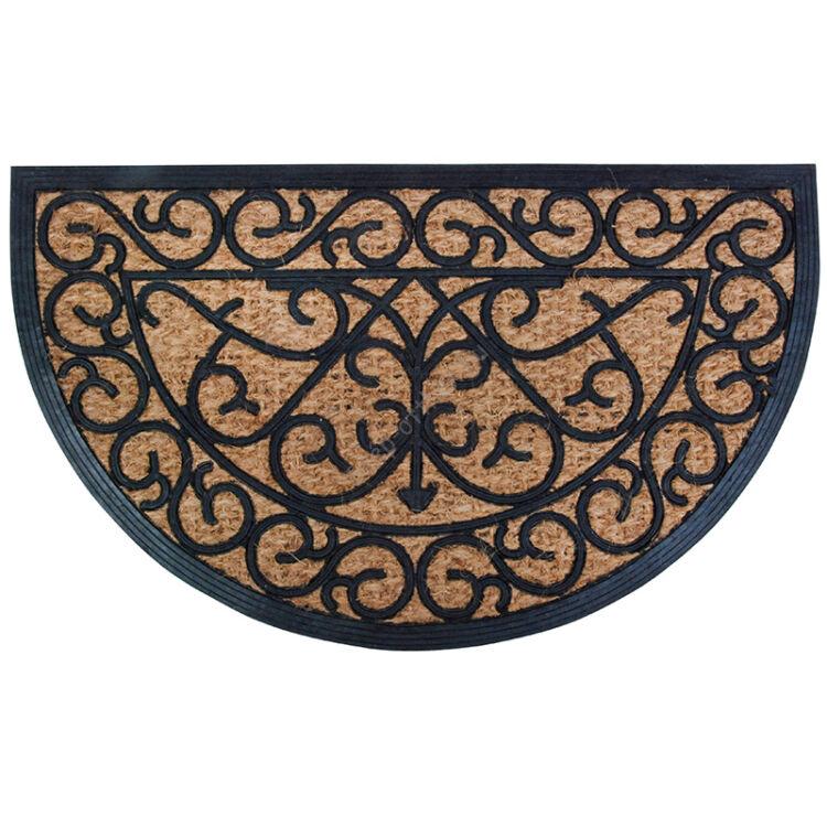 Lábtörlő, gumi-kókusz, 75 x 45 cm