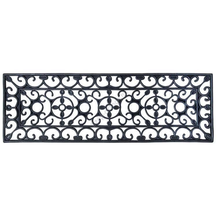 Keskeny gumi lábtörlő lépcsőre, gumi, 75 x 25 cm