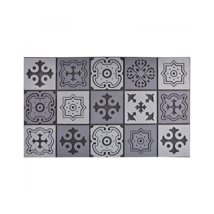 Mozaik mintás lábtörlő, 76 x 45 cm