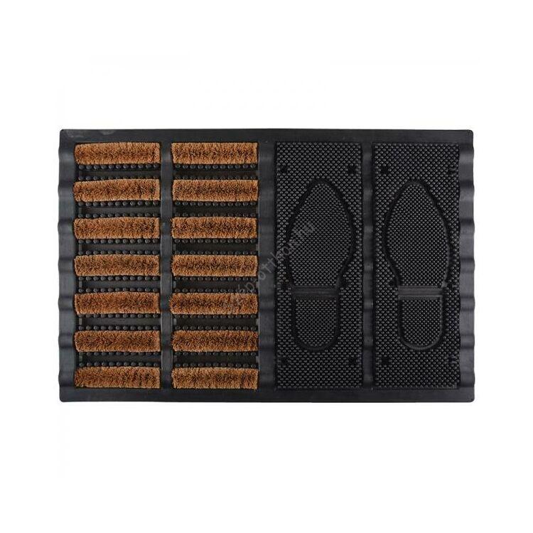 Cipőtisztító és szennyfogó tálca, 60 x 40 cm