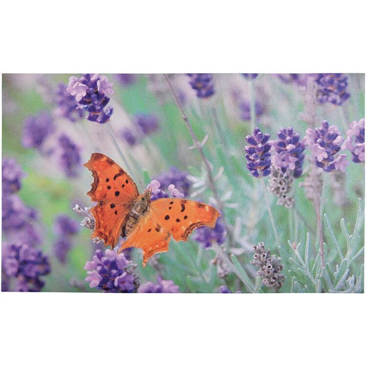 Pillangós lábtörlő - Cipős szőnyeg