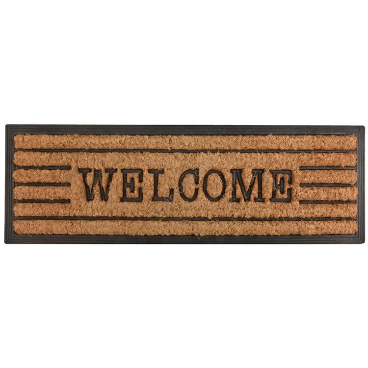 Lábtörlő, Welcome felirattal, 75 x 25 cm