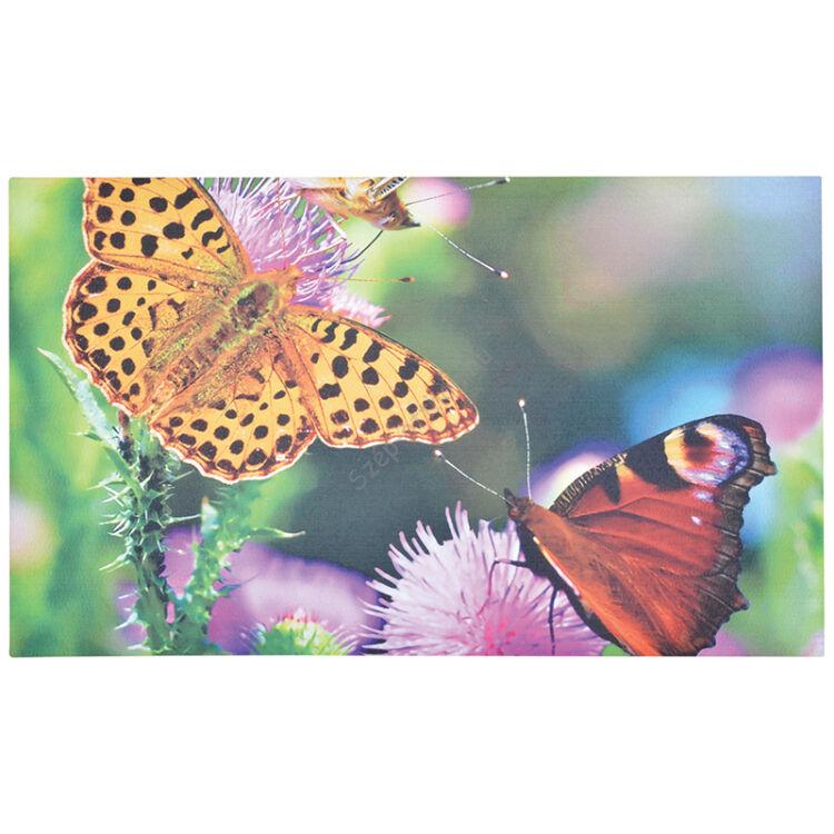 Pillangós lábtörlő, 75 x 45 cm