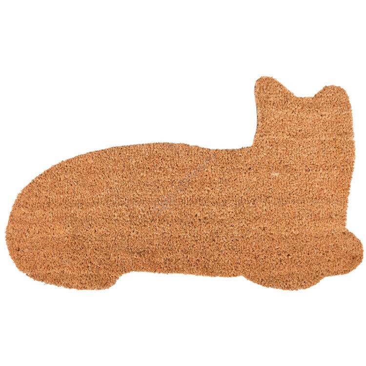 Macska alakú kókuszrost lábtörlő