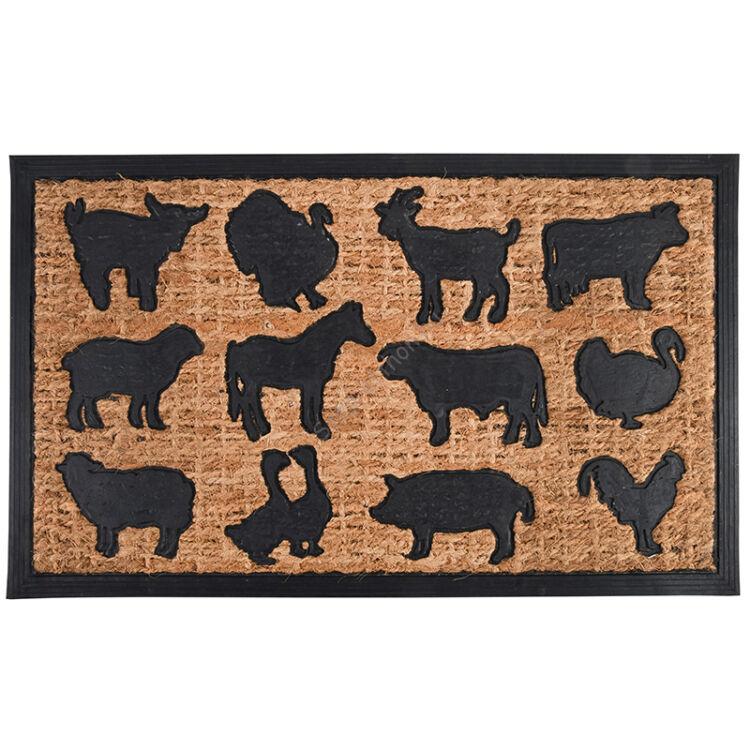 Lábtörlő, farm állatok