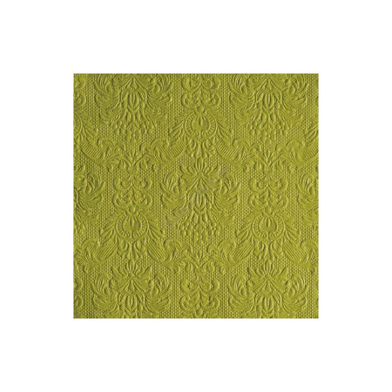 AMB.14004932 Elegance green papírszalvéta 40x40cm,15db-os